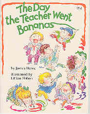 Image for The Day the Teacher Went Bananas