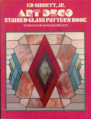 Image for Art Deco Stained Glass Pattern Book