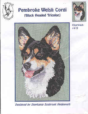 Image for Pembroke Welsh Corgi - Cross-Stitch
