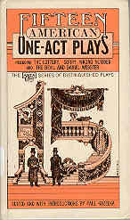 Image for Fifteen American One Act Plays