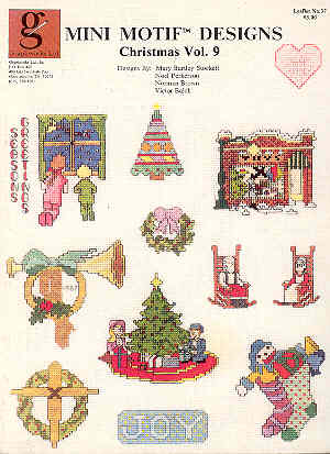 Image for Mini Motif Designs - Christmas - Vol. 9