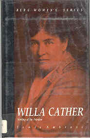 Image for Willa Cather : Writing at the Frontier