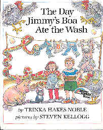 Image for The Day Jimmy's Boa Ate the Wash (Pied Piper Bks.)