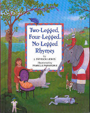 Image for Two Legged, Four-Legged, No-Legged Rhymes