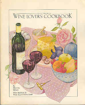 Image for California Wine Lovers Cookbook
