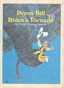Image for Pecos Bill Rides a Tornado