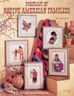 Image for Portrait of Native American Families Book 154