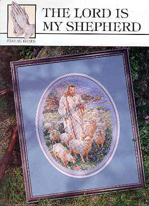 Image for The Lord is my Shepherd - Cross-stitch