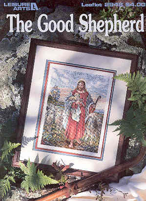 Image for The Good Shephard - Cross-stitch