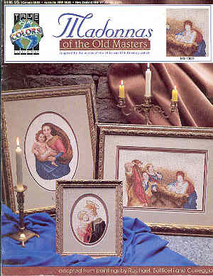Image for Madonnas of the Old Masters - Cross-stitch