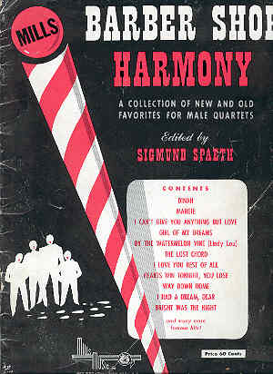 Image for Barber Shop Harmony