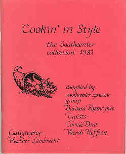 Image for Cookin' in Style, the Southcenter Collection, 1982