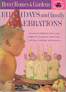 Image for Birthdays and Family Celebrations