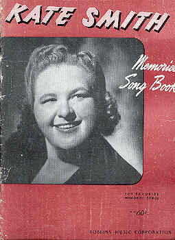 Image for Kate Smith Memories Song Book