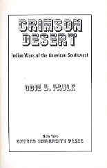 Image for Crimson Desert Indian Wars of the American Southwest