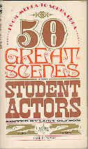 Image for 50 Great Scenes for Student Actors