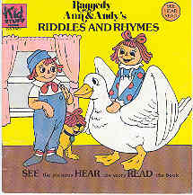 Image for Raggedy Ann & Andy's Riddles and Rhymes