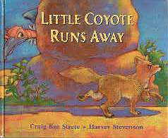 Image for Little Coyote Runs Away
