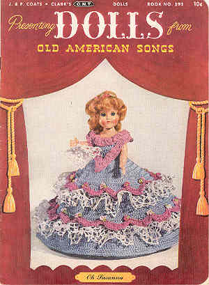 Image for Dolls From Old American Songs, Book No. 292