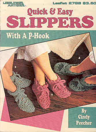 Image for Quick & Easy Slippers with a P-Hook