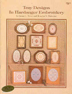Image for Tray Designs in Hardanger Embroidery