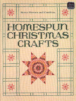 Image for Better Homes and Gardens Homespun Christmas Crafts