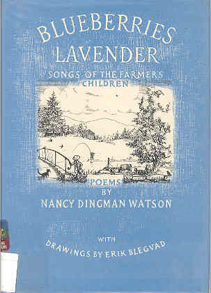 Image for Blueberries Lavender: Songs of the Farmers' Children Poems