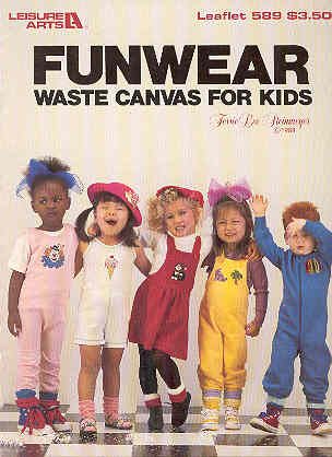 Image for Funwear Waste Canvas for Kids