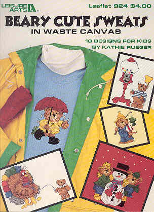 Image for Beary Cute Sweats in Waste Canvas