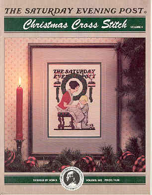 Image for The Saturday Evening Post Christmas Cross Stitch