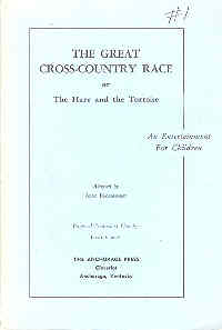 Image for The Great Cross County Race or The Hare and the Tortoise