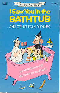 Image for I Saw You in the Bathtub and Other Folk Rhymes