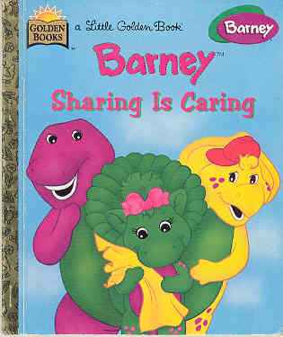 Image for Barney: Sharing Is Caring