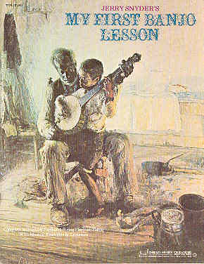 Image for Jerry Snyder's My First Banjo Lesson