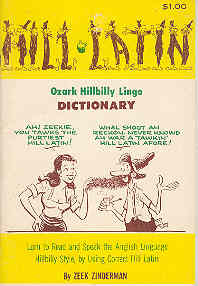 Image for Ozark Hillbilly Lingo Dictionary