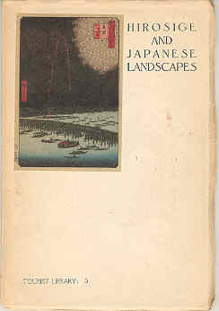 Image for Hirosige and Japanese Landscapes Tourist Library 5