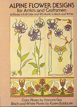 Image for Alpine Flower Designs for Artists and Craftsmen