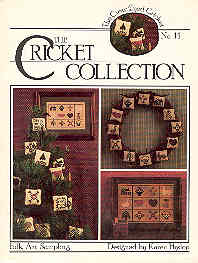 Image for The Cross-Eyed Cricket No. 14 Folk Art Sampler