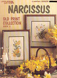 Image for Narcissus Old Print Collection Book 3