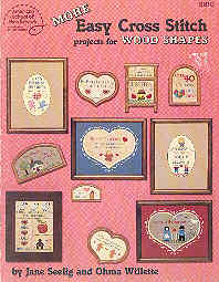 Image for More Easy Cross Stitch Projects for Wood Shapes