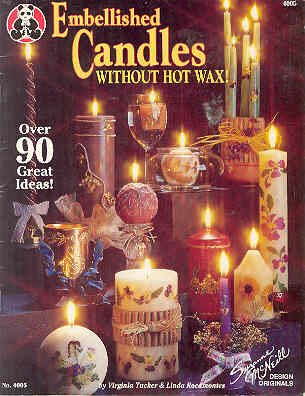 Image for Embellished Candles Without Hot Wax