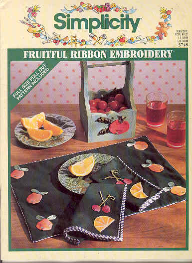 Image for Fruitful Ribbon Embroidery