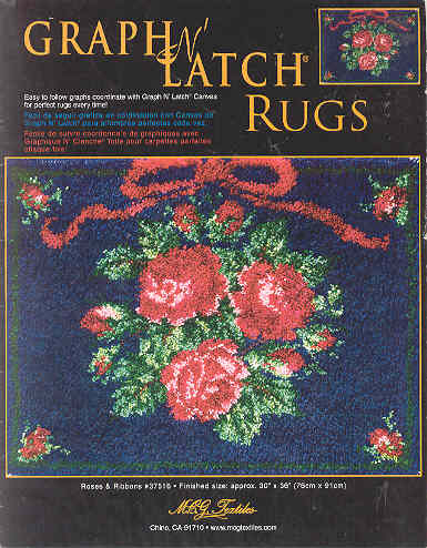 Image for Graph N' Latch Rugs Roses & Ribbons #37516