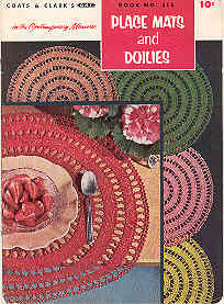 Image for Place Mats and Doilies Book. No. 315