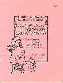 Image for Dolls & Bears in Counted Cross Stitch