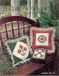 Image for A Quilter's Delight, Leaflet No. 67