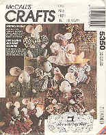 Image for McCall's Crafts 5350 Micecapades