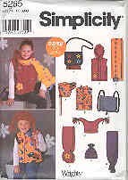 Image for Simplicity 5285 Child's Girls' and Boys' Vest, Hats and Accessories