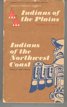 Image for Indians of the Plains, Indians of the Northwest Coast