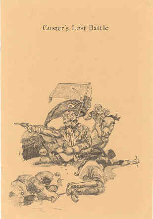 Image for Custer's Last Battle